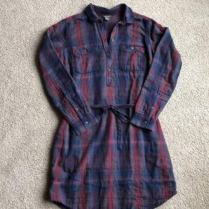 Eddie Bauer flannel dress